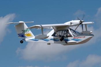 Полет на самолете Амфибия