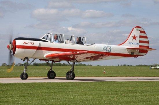 Полет на самолете ЯК 52 в Николаеве