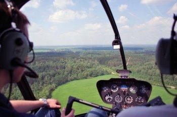 Політ на літаку і вертольоті