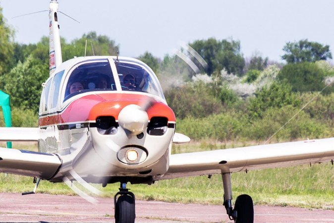 Полет на самолете Piper Хмельницкий
