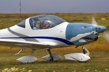 Полет на самолете Aquila в Одессе
