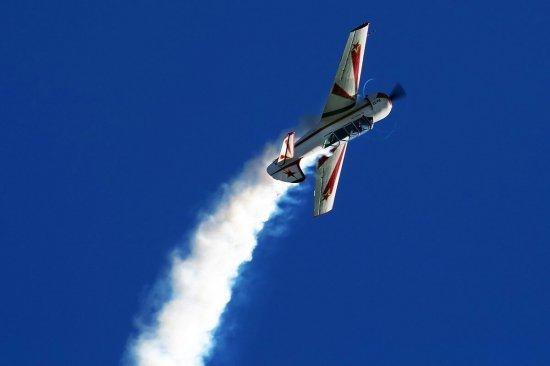 Полет на самолете ЯК 52 с фигурами пилотажа