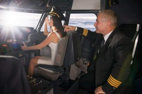 Мастер класс: пилот самолета Боинг