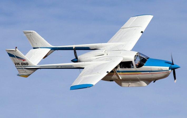 Полет на самолете Cessna 337 Харьков