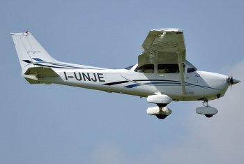 Політ на літаку Cessna навколо Харкова