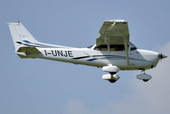 Полет на самолете Cessna вокруг Харькова