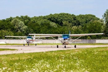 Полет на самолете Cessna Белая Церковь
