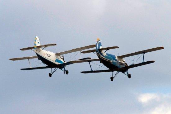 Полет на самолете Ан-2 в Чернигове