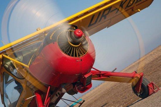Полет на самолете Вильга в Чернигове