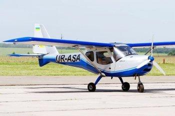 Полет на самолете K10 в Днепре