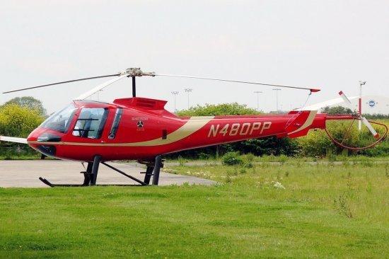 Полет на вертолете Enstrom в Днепре