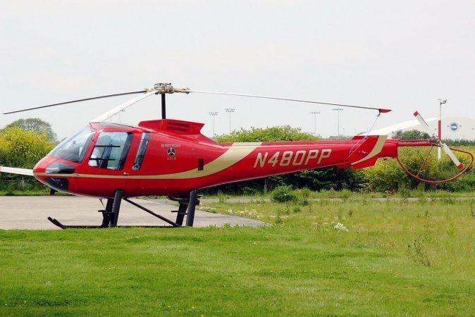 Полет на вертолете Enstorm в Днепре