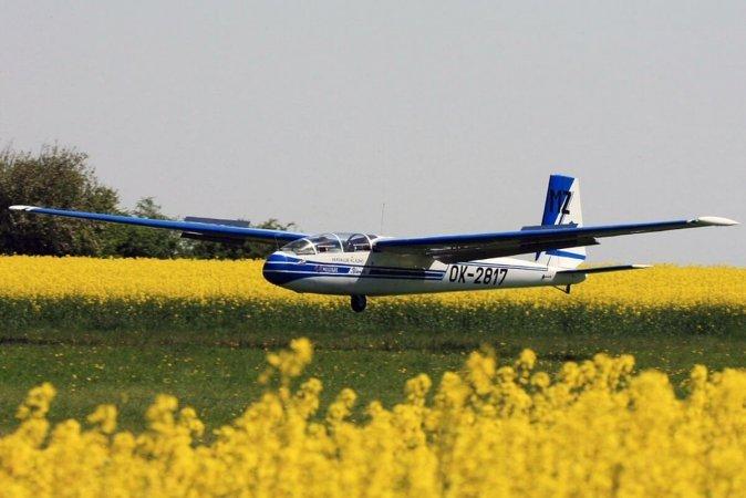 Політ на планері в Дніпрі