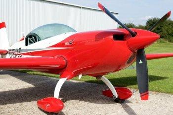 Полет с фигурами пилотажа на самолете Extra