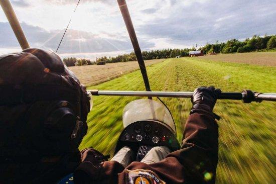 Полет на мотодельтаплане Ивано-Франковск