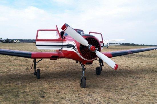 Полет на самолете ЯК 18Т в Харькове