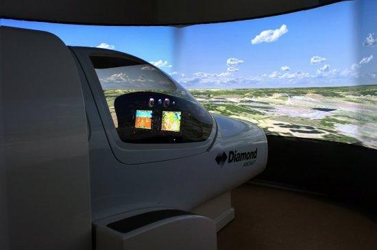 Пилот самолета: авиасимулятор полета