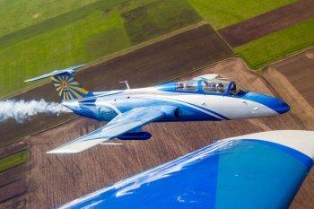 Полет на реактивном самолете L29 в Харькове