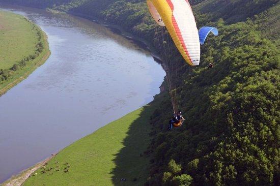 Полет на параплане в Ивано-Франковске