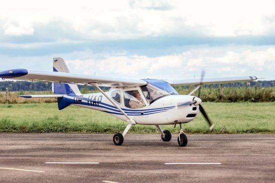 Полет на самолете К10 Львов