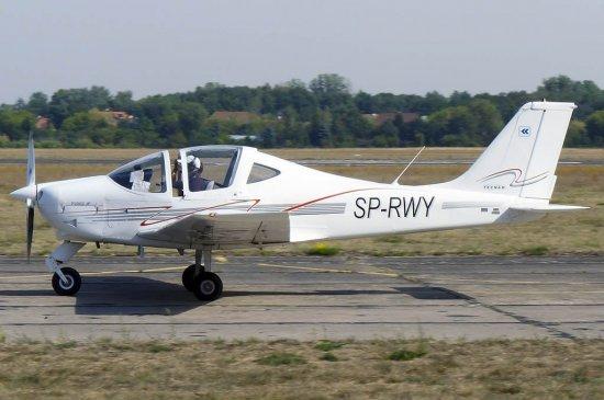 Полет на самолете Tecnam во Львове