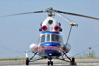 Полет на вертолете МИ-2 во Львове