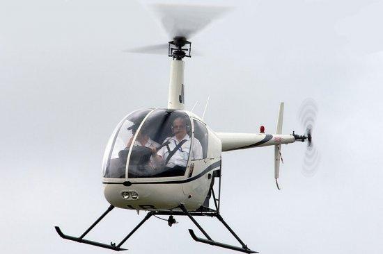 Пилот вертолета R22: мастер-класс