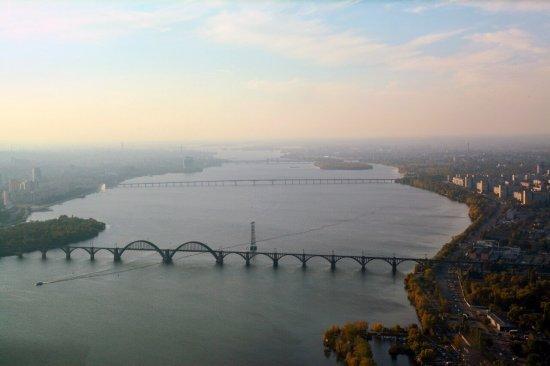 Полет над Днепром на самолете Grumman