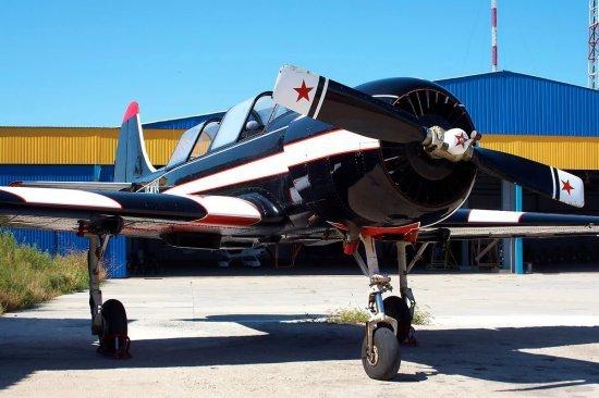 Політ на літаку ЯК 52 в Одесі
