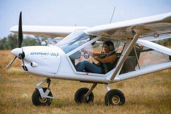 Полет на самолете А22 в Одессе