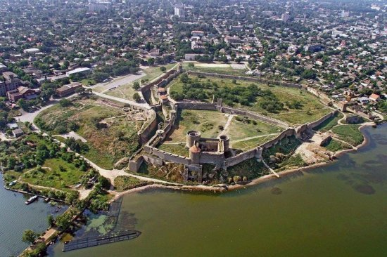 Полет на самолете над Аккерманской крепостью