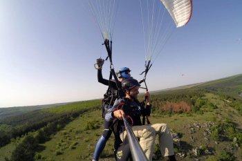 Полет на параплане Каменец-Подольский