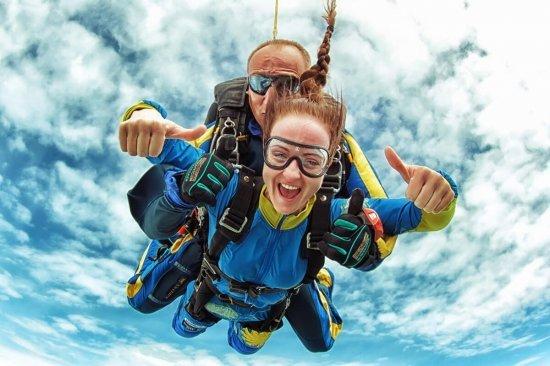 Тандем-стрибок з парашутом в Одесі