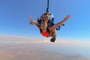 Прыжок с парашютом в тандеме Чернигов