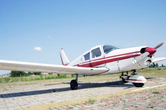 Політ на літаку Piper