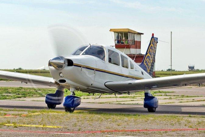 Полет на самолете Piper Днепр