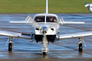 Полет на самолете Piper для компании