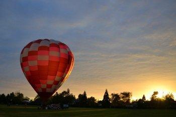 Політ на повітряній кулі в Луцьку