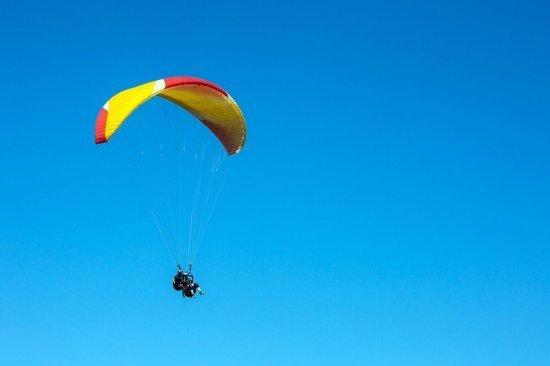 Полет на параплане в Полтаве