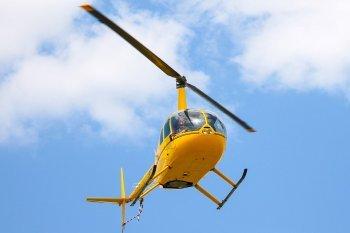 Політ на вертольоті Robinson R44 над Києвом