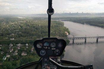 Політ на вертольоті Р44: усі мости