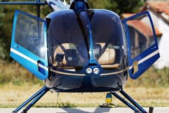 Полет на вертолете Robinson R66 над Киевом