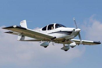 Політ на літаку RV-10 у Луцьку