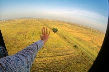 Політ на повітряній кулі в Черкасах