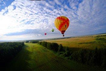 Політ на повітряній кулі в Переяслав-Хмельницькому