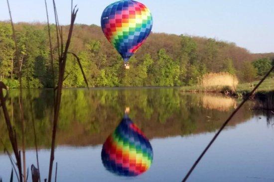 Полет на воздушном шаре в Харькове