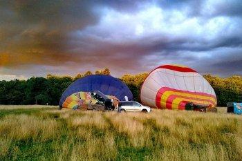 Полет на воздушном шаре во Львове