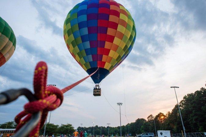 Аэролифт - привязной полет на воздушном шаре