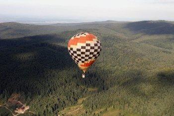 Полет на воздушном шаре Сходница