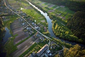 Політ на повітряній кулі в Житомирі